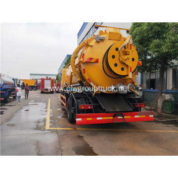 Dongfeng 8000L disposal sewage suction vehicle trucks